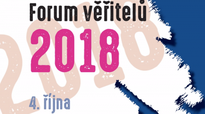 Zúčastnili jsme se akce: FÓRUM VĚŘITELŮ 2018